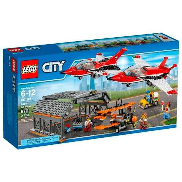 Конструктор Lego City Авиашоу 60103