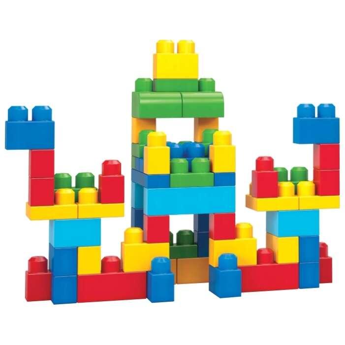 Конструктор Mega Bloks Первостроители 60 шт голубой (DCH55)