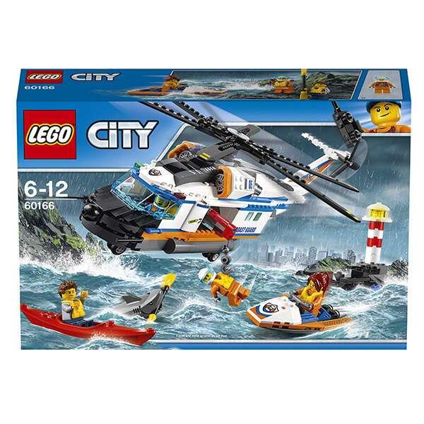 Конструктор Lego City Сверхмощный спасательный вертолёт 60166