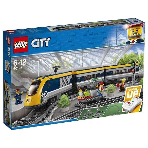 Конструктор Lego City Пассажирский поезд 60197
