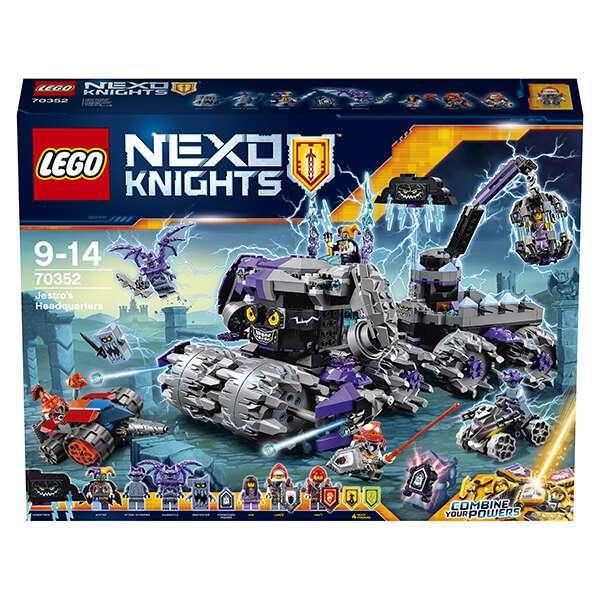 Конструктор Lego Nexo Knights Штурмовой разрушитель Джестро 70352