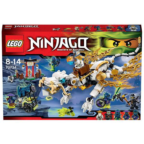 Конструктор Lego Ninjago Дракон Сэнсэя Ву 70734