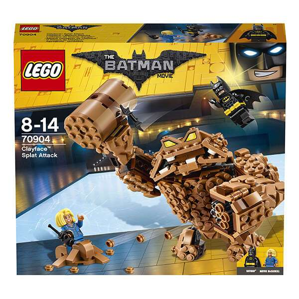 Конструктор Lego Batman Movie: Бэтмен Атака Глиноликого 70904