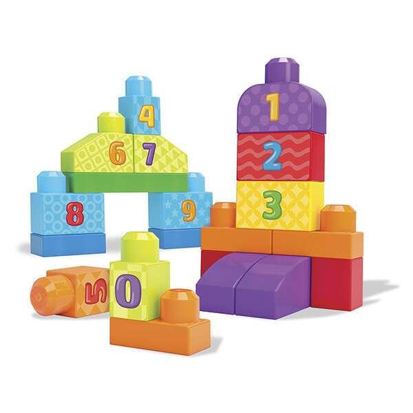 Конструктор Mega Bloks 1-2-3 Count (DLH85)
