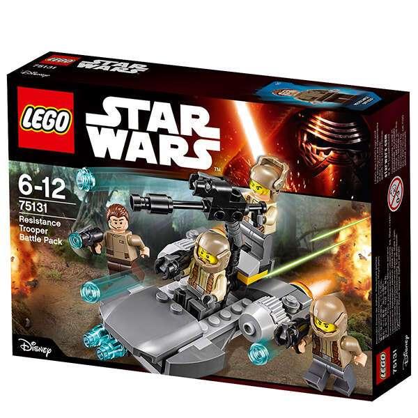 Конструктор Lego Star Wars Боевой набор Сопротивления 75131