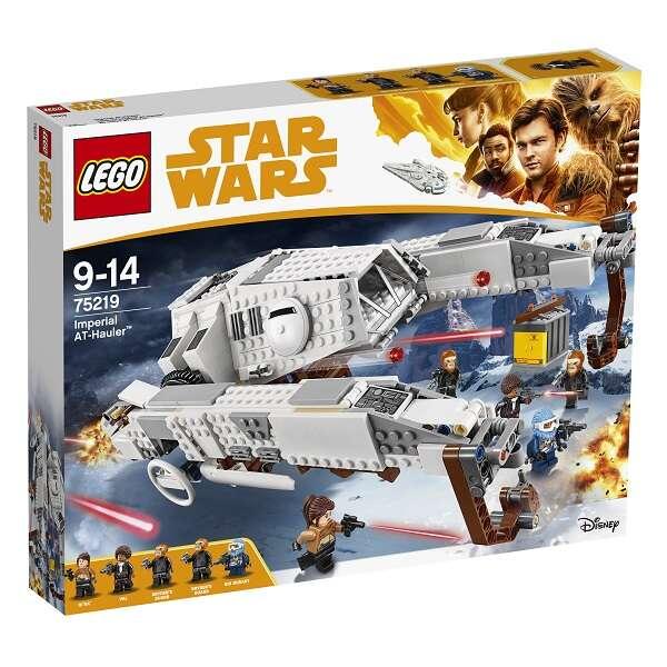 Конструктор Lego Star Wars Имперский шагоход-тягач 75219