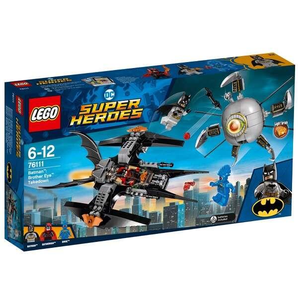 Конструктор Lego Super Heroes Бэтмен: ликвидация Глаза брата 76111