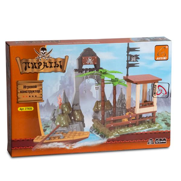 Игровой конструктор Ausini Toys 27406 Пираты