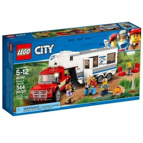Конструктор Lego City дом на колесах 60182