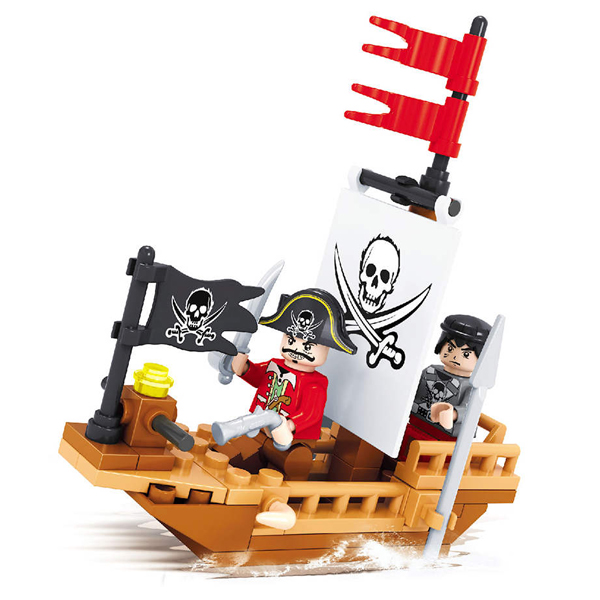 Игровой конструктор Ausini Toys Пираты (27303)