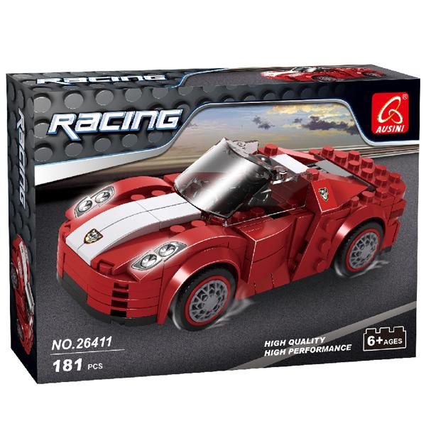 Игровой конструктор Ausini Toys 26411 Гоночный автомобиль Ferro