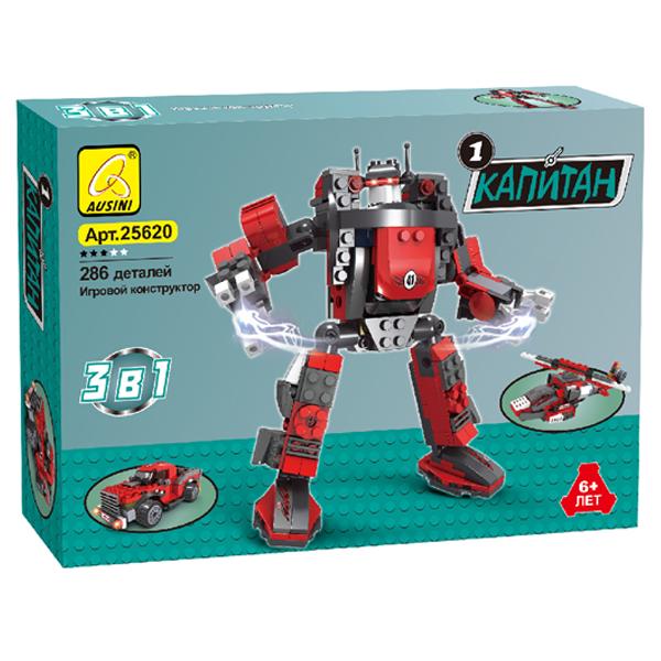 Игровой конструктор Ausini Toys 25620 Капитан