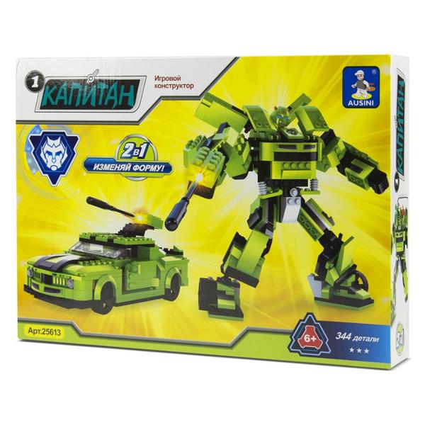Игровой конструктор Ausini Toys 25613 Робот трансформер