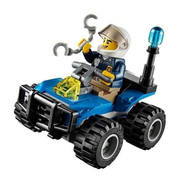 Конструктор Lego City убежище в горах