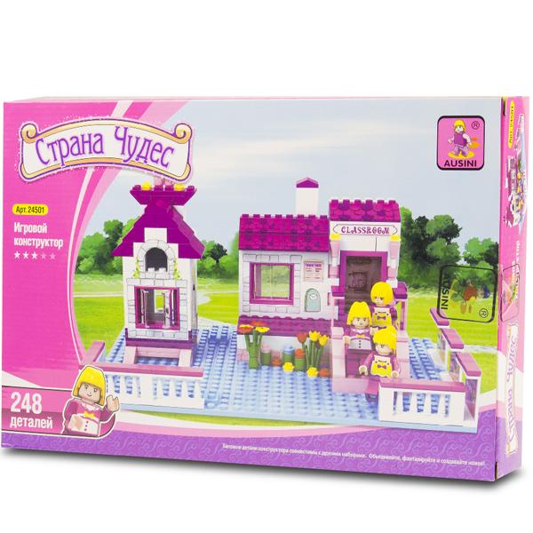 Игровой конструктор Ausini Toys 24501 Веселая школа