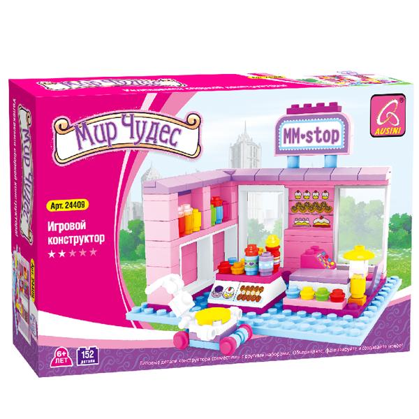 Игровой конструктор Ausini Toys 24409 Магазин сладостей