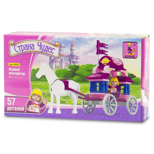 Игровой конструктор Ausini Toys 24201 Сказочная карета