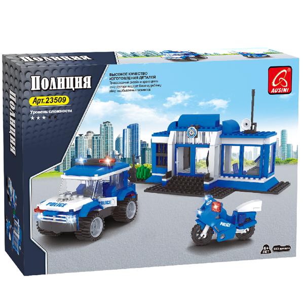 Игровой конструктор Ausini Toys 23509 Полицейский участок