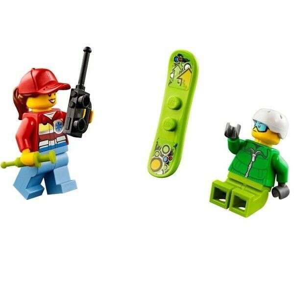 Конструктор Lego City вертолёт скорой помощи