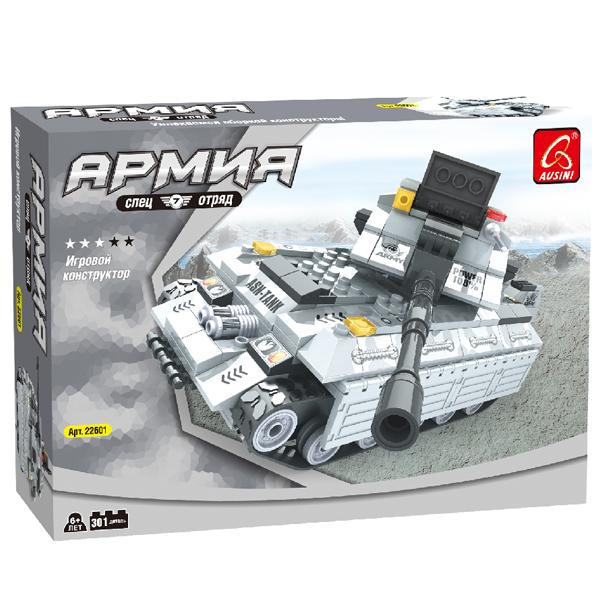 Игровой конструктор Ausini Toys 22601 Тяжёлый танк