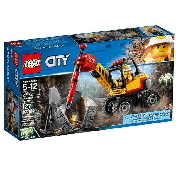 Конструктор Lego City трактор для горных работ 60185
