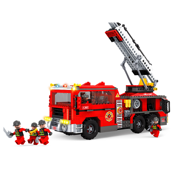 Игровой конструктор Ausini Toys Пожарная бригада (21702)