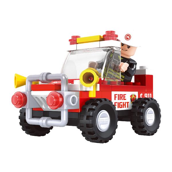 Игровой конструктор Ausini Toys Пожарная бригада (21201)