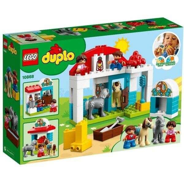 Конструктор Lego Duplo Town Игрушка Дупло Конюшня на ферме 10868