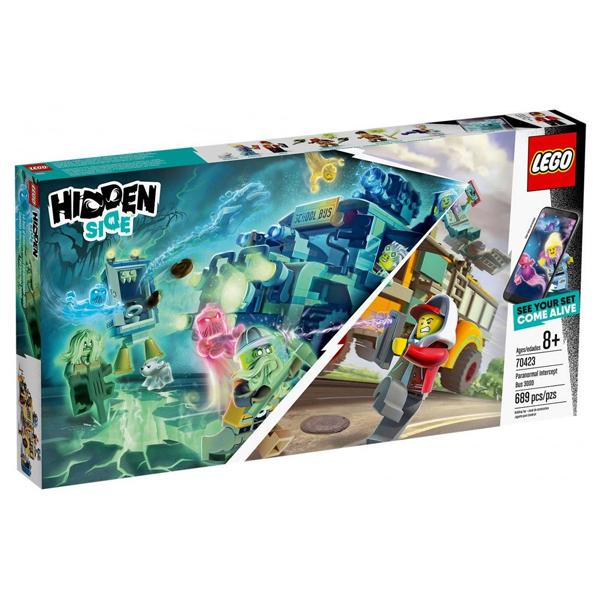 Конструктор LEGO Автобус охотников за паранормальными явлениями 3000 Hidden Side 70423