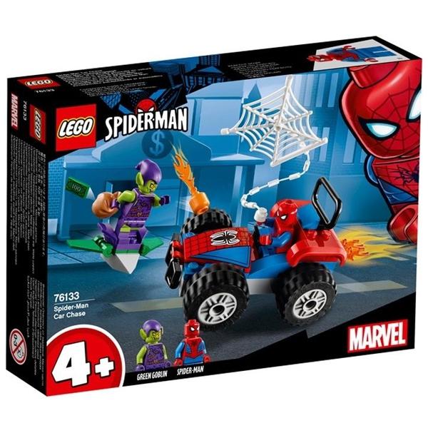 Конструктор LEGO Автомобильная погоня Человека-паука Super Heroes 76133