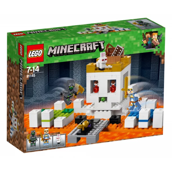 Конструктор LEGO Арена-череп  Minecraft 21145