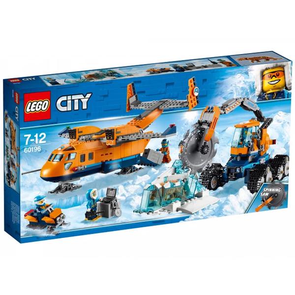 Конструктор LEGO Арктический грузовой самолёт CITY 60196