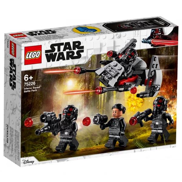 Конструктор LEGO Боевой набор отряда «Инферно» Star Wars 75226