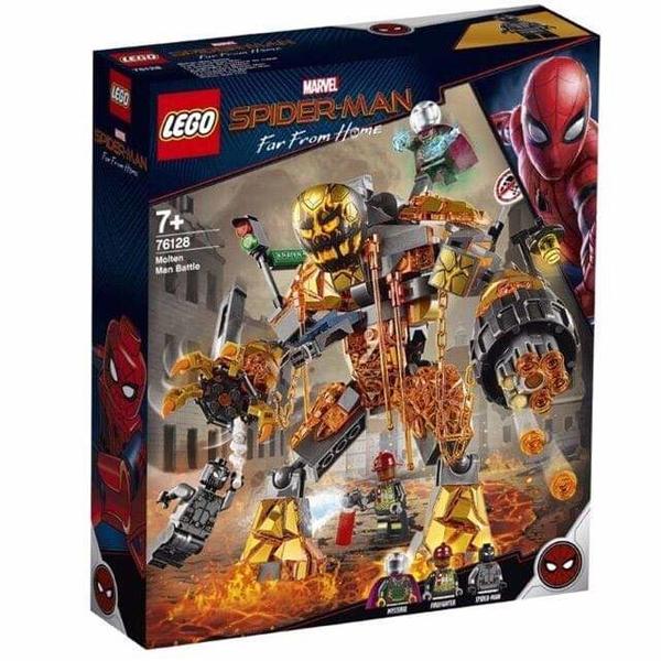 Конструктор LEGO Бой с Расплавленным Человеком Super Heroes 76128