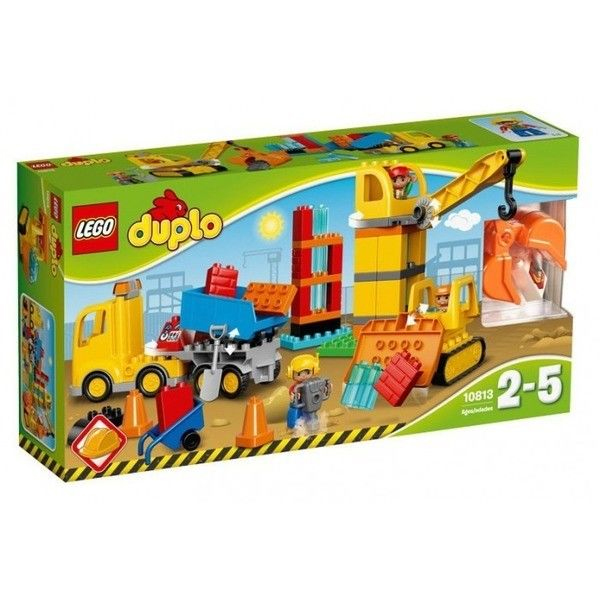 Конструктор LEGO Большая стройплощадка DUPLO 10813