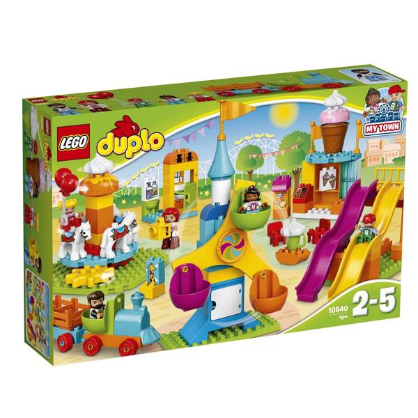 Конструктор LEGO Большой парк аттракционов DUPLO 10840