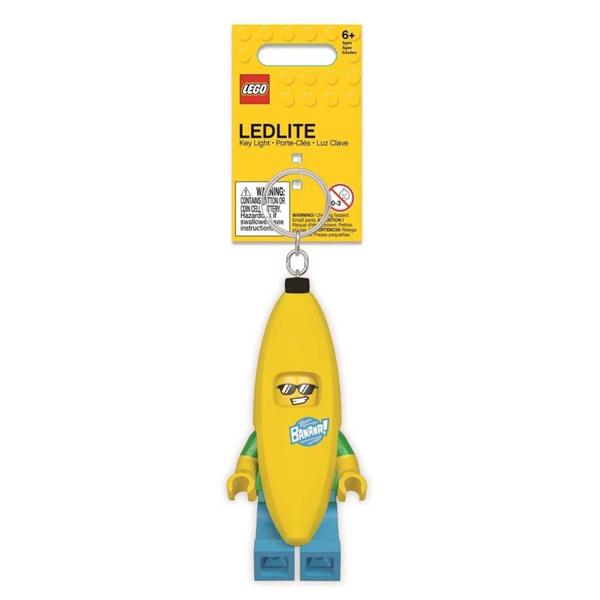 Конструктор LEGO Брелок-фонарик для ключей - Banana Guy