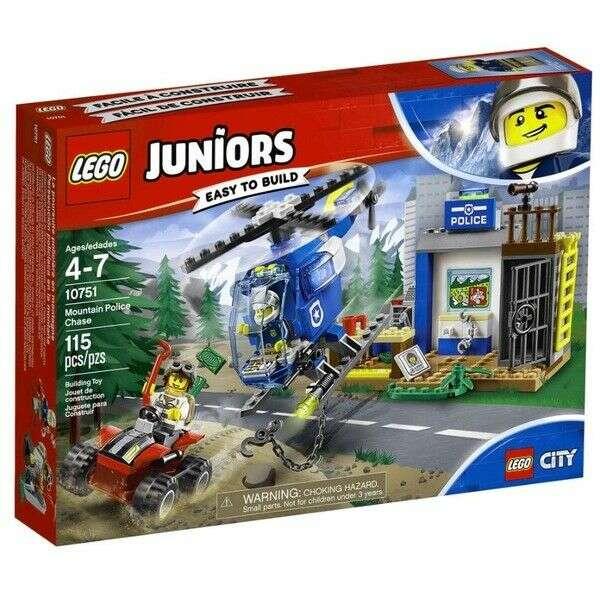 Конструктор Lego Juniors погоня горной полиции 10751