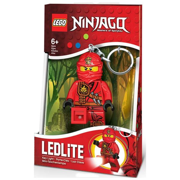 Конструктор LEGO Брелок-фонарик для ключей Ninjago - KAI