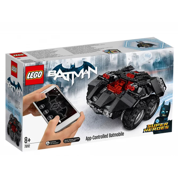 Конструктор LEGO Бэтмобиль с дистанционным управлением Super Heroes 76112