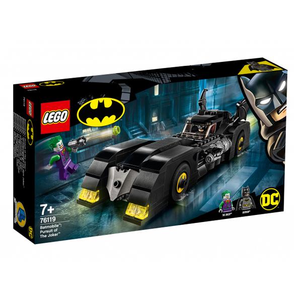 Конструктор LEGO Бэтмобиль: Погоня за Джокером Super Heroes 76119
