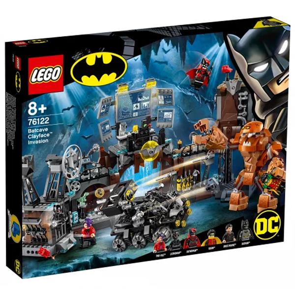 Конструктор LEGO Вторжение Глиноликого в бэт-пещеру Super Heroes 76122