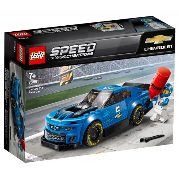 Конструктор Lego Гоночный автомобиль Chevrolet Camaro ZL1 Speed Champions 75891