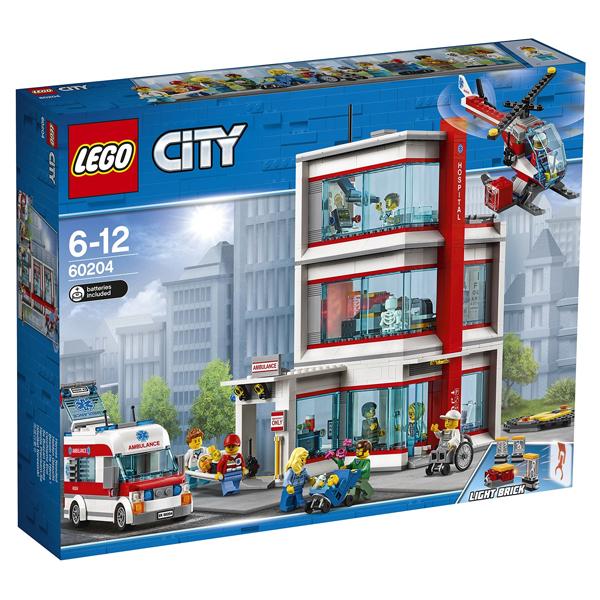 Конструктор Lego Городская больница City 60204