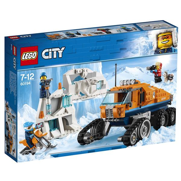 Конструктор Lego Грузовик ледовой разведки City 60194