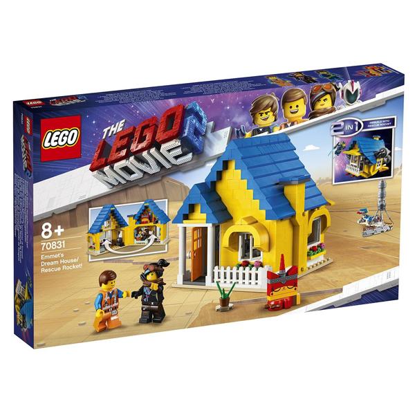 Конструктор Lego Дом мечты / Спасательная ракета Эммета! Movie 70831