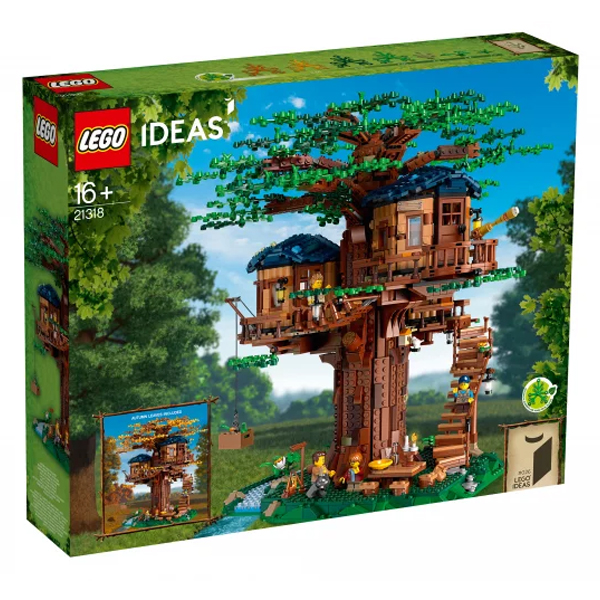 Конструктор Lego Дом на дереве Ideas 21318