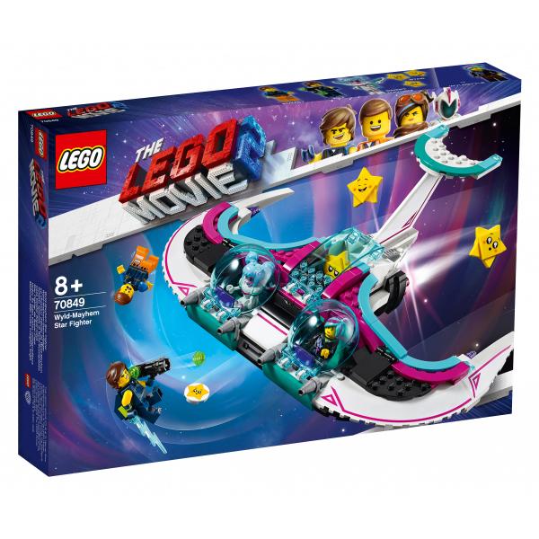 Конструктор Lego Звёздный истребитель Мими Катавасии и Дикарки Lego Movie 70849