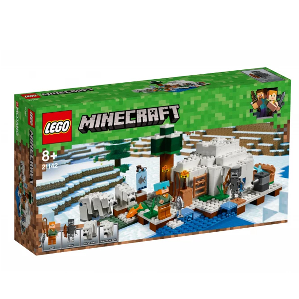 Конструктор Lego Иглу Minecraft 21142