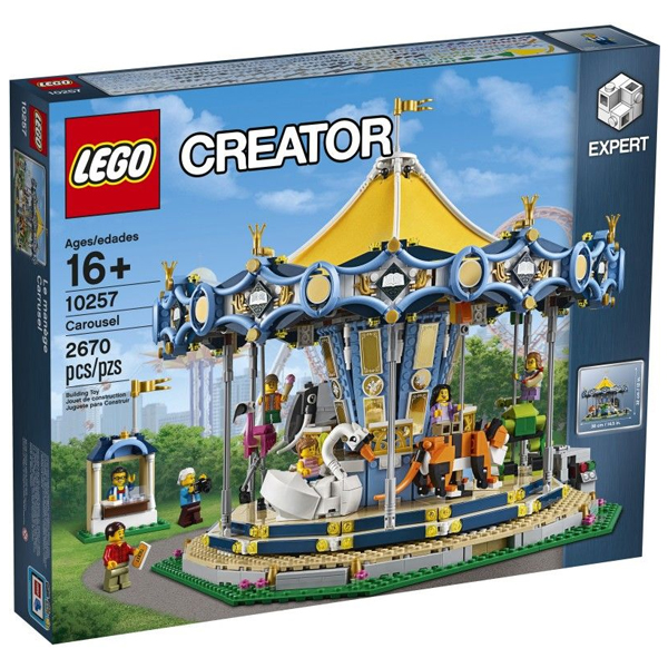 Конструктор Lego Карусель Creator Expert 10257